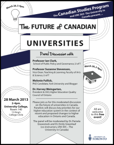 Pic-Future of Canadian Universities